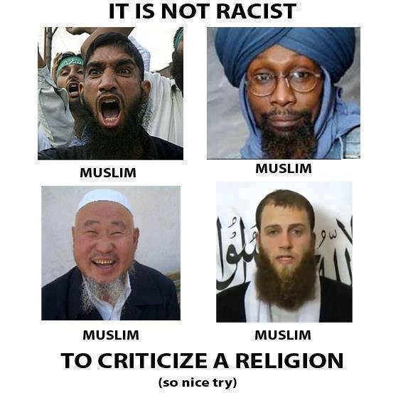 It is not racist ot criticize a relgion