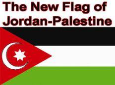 The new flag och jordan-palestine